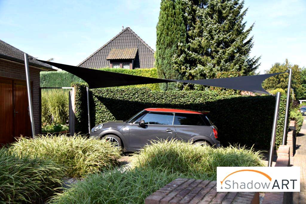 ShadowART Carport - Shadowart Zonnezeilen