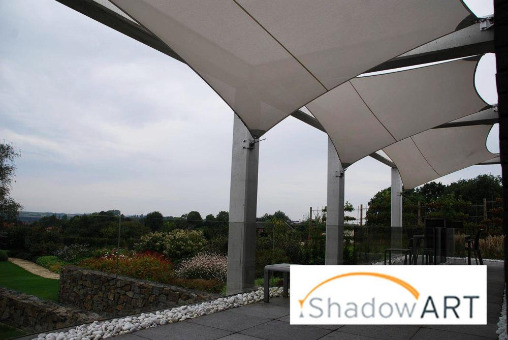 Schaduwdoek Op Maat : Shadowart schaduwdoeken en zonnezeilen mooi en stijlvolle zonwering