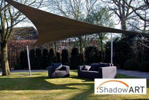 ShadowArt schaduwdoeken ; zoekt u een zonwering voor op uw terras